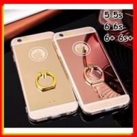 AKSESORIS HP FOR IPHONE 6 plus/6s plus - NEW LUXURY MIRROR SILIKON CAS