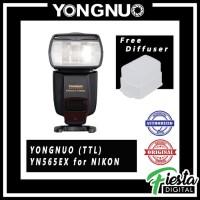 Lampu Flash Speedlite Yongnuo YN565EX (TTL) for NIKON + Free Diffuser