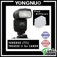 Lampu Flash Speedlite Yongnuo YN565EX II (TTL) for CANON + Diffuser