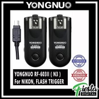 Flash Trigger YONGNUO RF603II For NIKON ( N3 Cable )