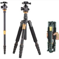 2 in 1 Beike QZSD-666 Portable Travel Camera Tripod and Monopod