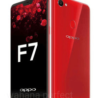 HP OPPO F7 RAM 4/64GB Garansi Resmi 1Thn Oppo Indonesia -Black & Red-