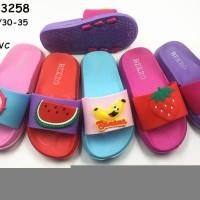 Sendal Selop BEKRO KFT 3258 Untuk Anak Perempuan Khusus Size 30-35