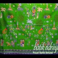 Ready Stock Kain Meteran Batik Betawi Hijau . . . . . . .