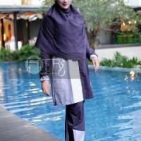 Baju Renang Muslim Size Besar Tidak Ketat dan Membentuk Tu C REN745