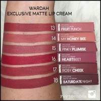 Harga Lipstik Wardah Lip Cream Travelbon.com