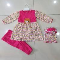 Grosir Baju Muslim Bayi / Setelan Pakaian Muslim baby little girl