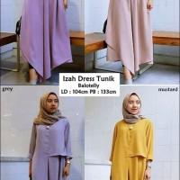 Baju Dress Gamis Syari Hijab Muslim Wanita Dewasa Terbaru THS018 Ter