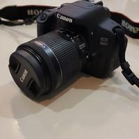 Kamera DSLR Canon EOS 700D Lensa Kit 18-55mm