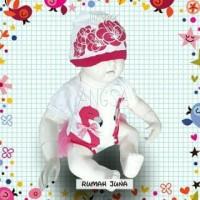 Grosir BajuAnak. Jumper Angsa Free Topi Pakaian Baju Anak Bayi Perempu