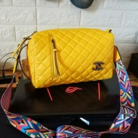 PROMO MURAH Hits Tas Chanel Tabung Kuning
