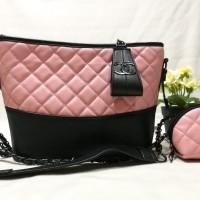 PROMO MURAH Tas Wanita Import Branded Chanel Gabrielle Free Pouch