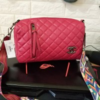 Tas Wanita Branded Real Pict Murah Chanel Tabung Red