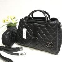 Limited Tas Batam Import Termurah Chanel 3 Ruang Terbaru Free Pouch