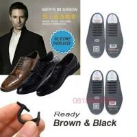 Premium Tali Sepatu silikon Formal COOLNICE isi 10 pcs