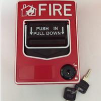 Techma Fire Alarm Manual Call Point Fire SB116