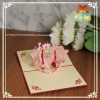Kartu ucapan ulang tahun|anniversary|terima kasih|Handmade (Love5)