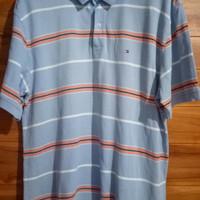 Kaos polo shirt PS tommy hilfiger big size original outdoor casual