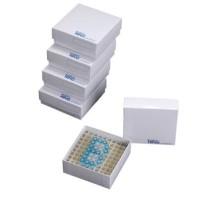 Cryobox White 3 Inch ( box sampel tabung 2 ml ) 100 well | Biologix