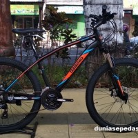 SEPEDA GUNUNG / MTB 26 THRILL TABIBITHO MISCHIEF 1.0 24SPEED ST BLACK.