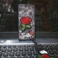 CASE HP SAMSUNG GALAXY A8 2018 HAR DCASE FLOWERS