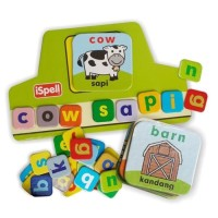 Mainan Edukasi/Edukatif Anak-Kartu Edukasi/Edufun Ispell The Farm