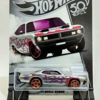 Hot Wheels: '71 Dodge Demon [Zamac Flames Series 6/8]