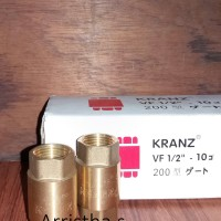 Harga tusen klep kuningan kranz 1 2 | Pembandingharga.com