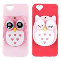 OWL MIRROR Case iPhone 5 5s SE 6 6Plus 7 7 Plus 8 8Plus X