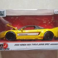 Jada Toys 1:24 JDM Tunners Honda NSX Kuning