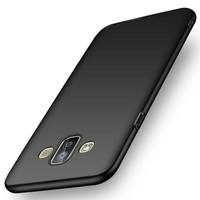Case black TPU slim Matte SAMSUNG J7 DUO case glare soft