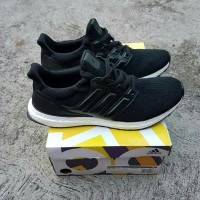 a62297f8674 Adidas Ultraboost 3.0 Leather Cage UA Perfect Quality Black White