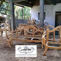 Kursi pelaminan,kursi kacang atom