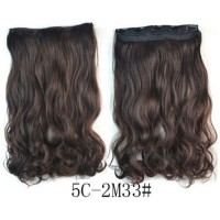 Rambut Palsu Aksesoris Hair Extension Clip Wig Murah Wanita AFB1543