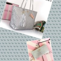 Set tas dan dompet victoria secret original
