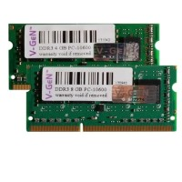 V-GEN DDR3 4GB PC 12800 1600 Mhz SODIMM Notebook Laptop RAM