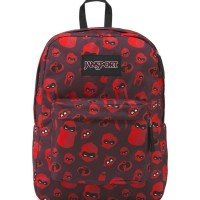 Tas JanSport Superbreak Incredibles Family Icons Red