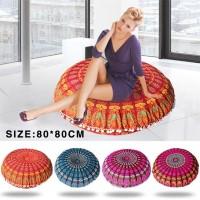 80 * 80 cm sofa bantal dekoratif Bantal Lantai Mandala