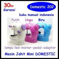 Sewing Machine S2 / Fhsm 202 / Gt 202 Mesin Jahit Mini - Hijau