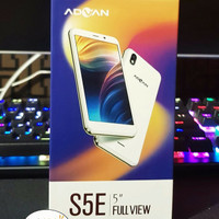 Hp Advan S5E 4G LTE FULL VIEW Lyr5 inc Garansi1Thn Advan-white & Black