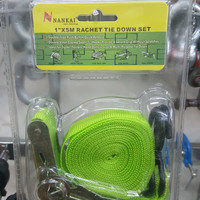 "Rachet Tie down 1""x5m merk Nankai"