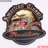 Patch American Classic Tradition Biker Motorcycle Harley Davidson Bord