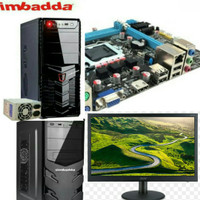 Komputer set core i5 Lcd 19inc acer