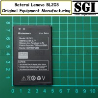 Baterai Handphone Lenovo BL203 A369 A369i Original OEM Batre Batrai HP