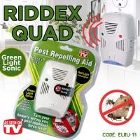 Riddex Quad Pest Control Serangga/Kecoa/Tikus - RIDDEX HIJAU