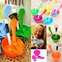 Mangkok Masker kosmetik warna / Mask Bowl - PINK MUDA