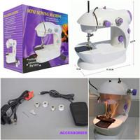 MESIN JAHIT PORTABLE ( mini portable sew machine )
