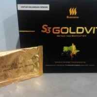 [ BOX ] S3 GOLDVIT / Gold Vit 100% Herbal Original