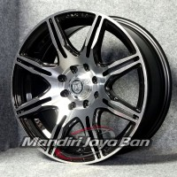 Velg Mobil Milano XXR Ring 15 x6.5 pcd 4x100-114.3 Pelek Ban Elegan