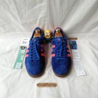 Sepatu Sneakers Adidas Dublin Blue stockholm cortez